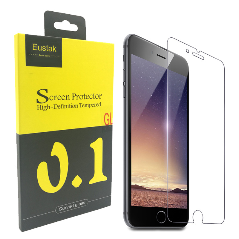 Eustak Anti-Explosion Tempered Glass for iphone 6 6s 4.7 inch 2.5D arc Screen Tough Protector for iphone 5 6 7 plus Glass Cover