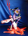 GK Garage Resin Figure EVA Evangelion Longinus with Large Size Unpainted Model Kit