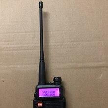 Baofeng 8w antena walkie talkie VHF UHF dwuzakresowy antena do baofeng UV 5R baofeng 888S UV 82 kd c1 dwukierunkowe akcesoria radiowe