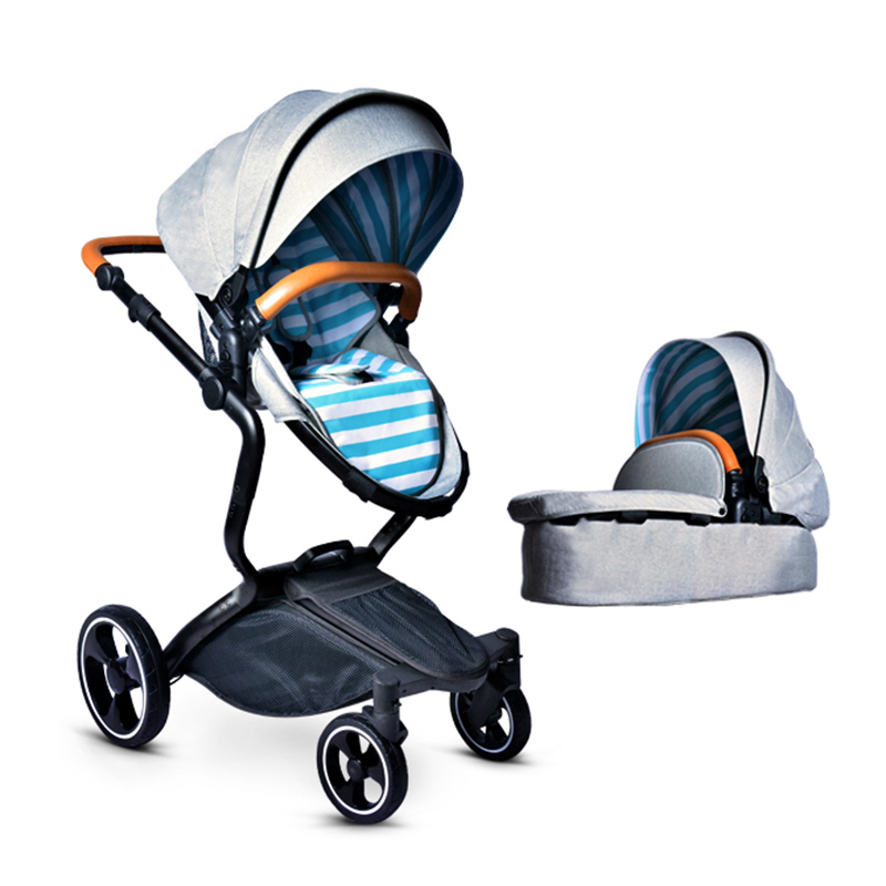Luxury Baby Stroller 2 in 1 High View Prams For Newborns Folding Baby Carriage Can Sit and Lie Portable Stroller For Infant gdszhs rechargeable 3s lipo battery 11 1v 2200mah 25c 30c for fpv rc helicopter car boat drone quadcopter href