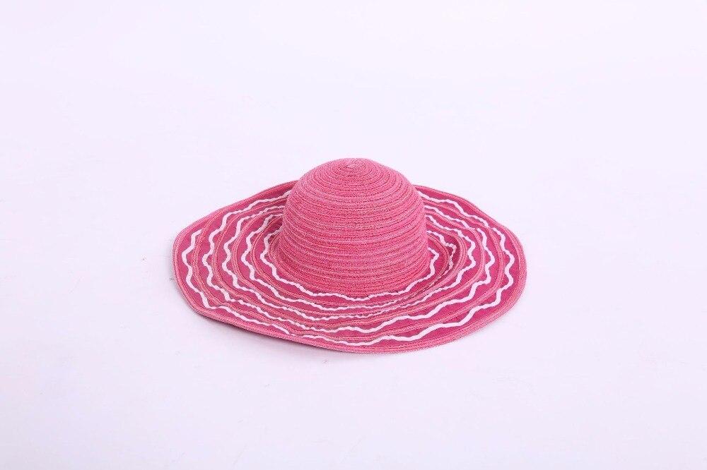 Здесь продается  Summer large brim women striped sun hat beach hat  Одежда и аксессуары