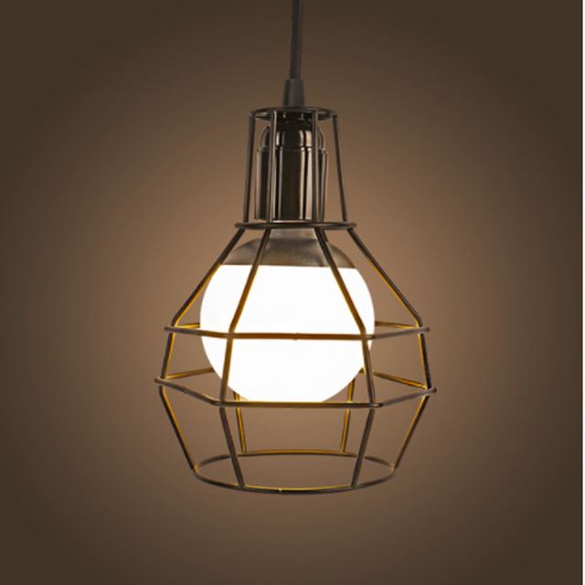 Dynasty Vintage Hanging Lamp Fancy Iron Series Led Fixture Lighting Modern Art Decorative Pendant Music