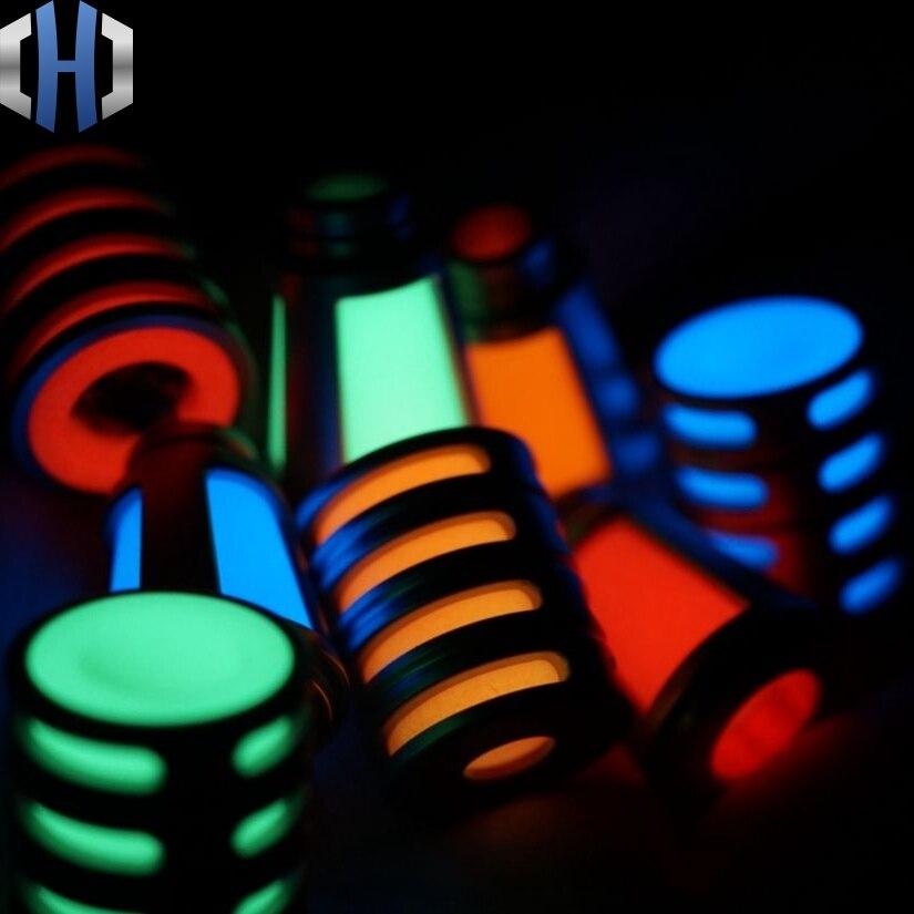 Luminous Pendant Tritium Tube Knife Beads Hanging High Brightness Stainless Steel Shell