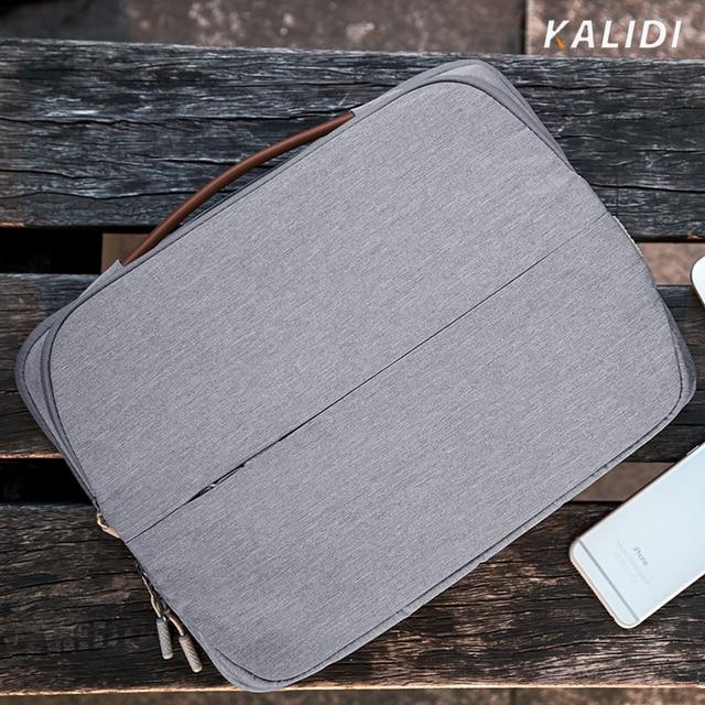 KALIDI Laptop Bag 11 12 13.3 14 15.6 Inch Waterproof Notebook Bag 15 15.6 Inch For Macbook Air Pro 13 15 Laptop Sleeve Women Men 2