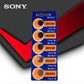 5 шт./лот Sony 100% оригинальный CR1220 кнопочный Аккумулятор для часов Автомобильный Дистанционный ключ cr 1220 ECR1220 GPCR1220 3v литиевая батарея