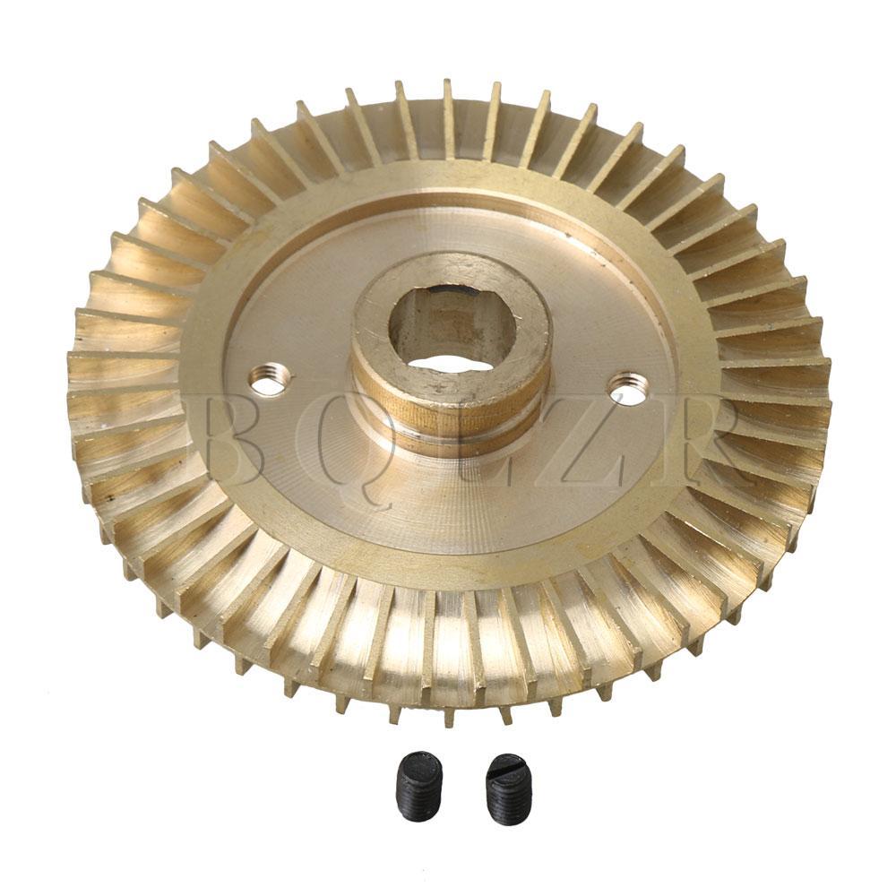 Gehorsam Bqlzr 85mm Durchmesser Messing Doppel-seitige Doppel Flache Wasserpumpe Laufrad Teile Home