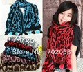 Nice wrinkle ball fringed  Scarf Scarves Neckerchief headband 170*40cm mixed color 11pcs/lot #3242