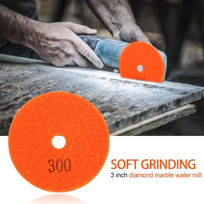 80mm Diamond Polishing Pad Quartz Stone Marble Buffing Grinding Wheel Polishing Mat Abrasive Tools