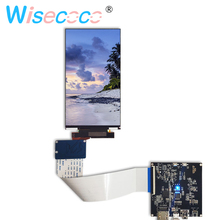 купить IPS 2160*3840 5.5 inch 4K LCD screen Panel with mipi to hdmi driver board for 3d printer VR дешево