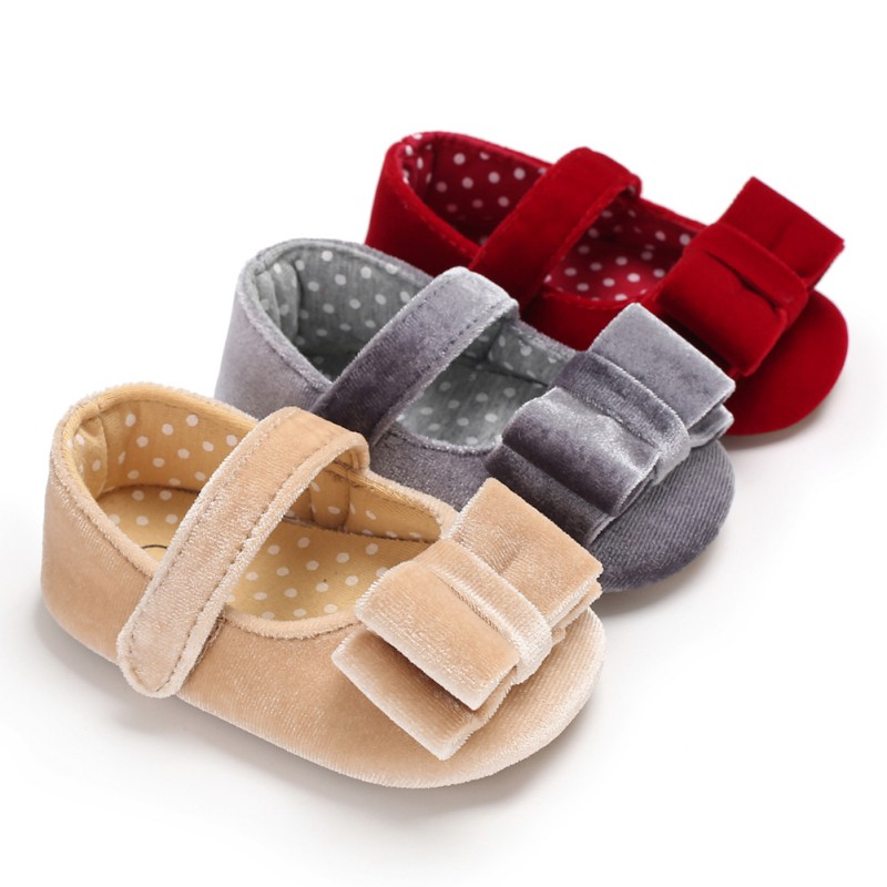 Moccasins Baby Shoes Girls Booties Born Infant Months Summer Flower for 3-Color Available