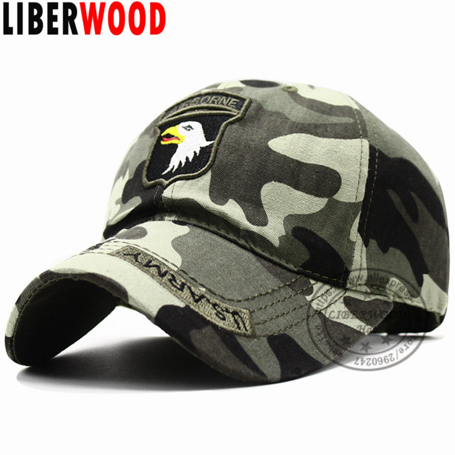 US 101st Airborne Baseball Caps SCREAMING EAGLE Cap Air Force hats for Men 3020065a11ca
