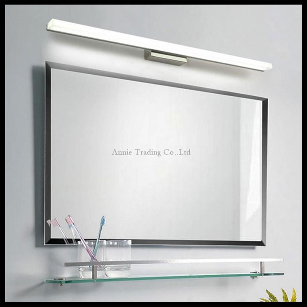 lcm lcm lcm lcm lcm llev la luz del espejo de acero inoxidable base de mscara