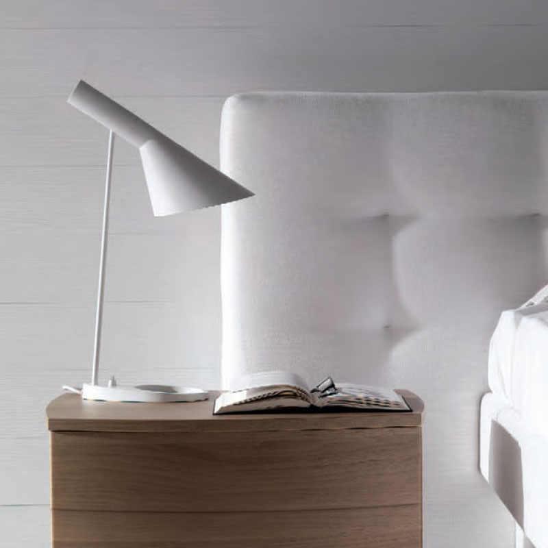 Реплика Луи современной AJ настольная лампа Арне Якобсен настольные лампы для Спальня исследования стенд светильники дома чердак Декор Светильник E27