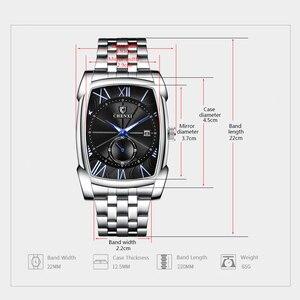 Image 5 - Mannen Horloges CHENXI Brand Quartz Horloge Klok Voor Man Luxe Unieke Stijl Nieuwe Horloges Relogio Masculino Militaire Polshorloge