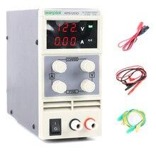 KPS1203D قابل للتعديل عالية الدقة مزدوجة LED عرض التبديل تيار مستمر امدادات الطاقة حماية وظيفة 120V3A 110 فولت/220 فولت 0.1 فولت/0.01A الاتحاد الأوروبي
