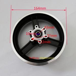 Lightning shipment 10 inch Electric scooter wheel hub 10 inch aluminum alloy wheel rims 10x2 10x2.125 10x2.50 10x2.25 tires rims