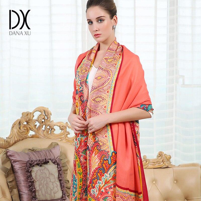 2019 Frauen Wintermode Boho-Stil Plaid dicken warmen Poncho Kaschmirpullover Pashmina Schals und Stolen übergroße Decke Wrap