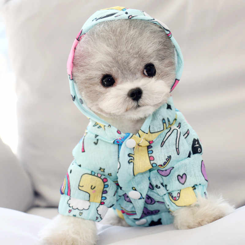 Summer Cute Breathing Dog Cooling Hoodie And Vest Cute Sun Proof Dogs Pets Clothing Cat Shirt Breathable Coat Oufit Chihuahua