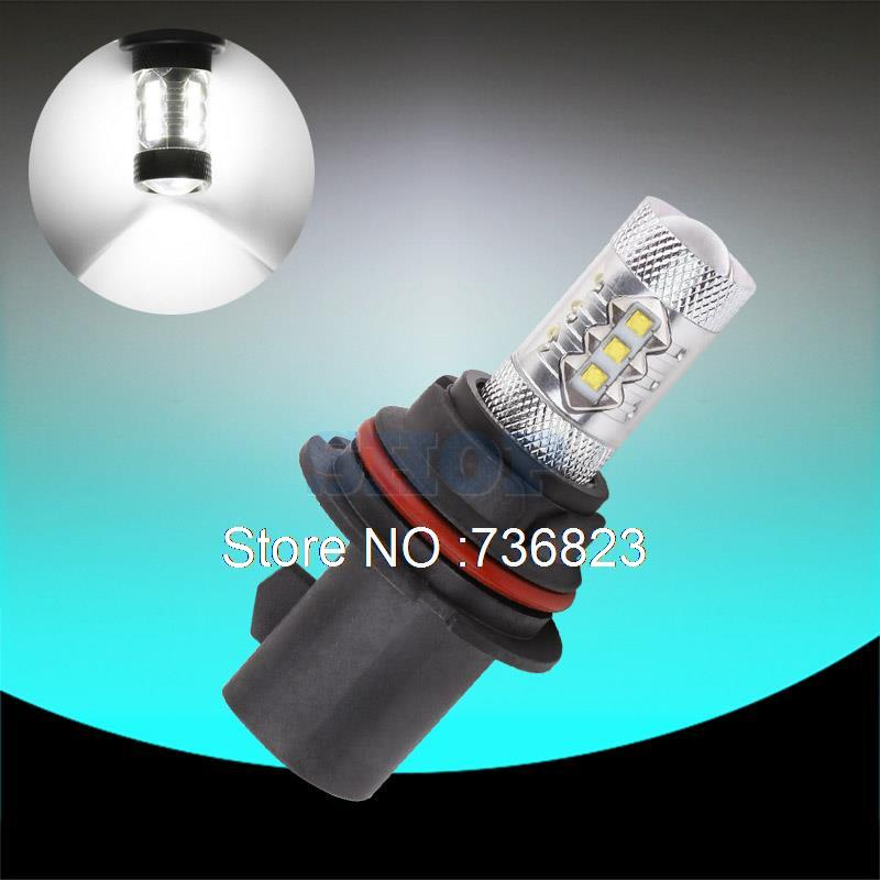 9007 HB5 80W Cree Led Chips Xenon White led cars Fog Head lights Daytime Running Bulb auto Lamp parking car light source DRL auto lamp parking car light source drl 1xhb5 9007 30w led white fog head lights daytime running lamp hb5 super bright