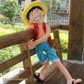 ONE PIECE, Monkey D. луффи, длинные ноги, L размер 85 СМ, прекрасные плюшевые игрушки, куклы младенца, Free-factroy оптовая