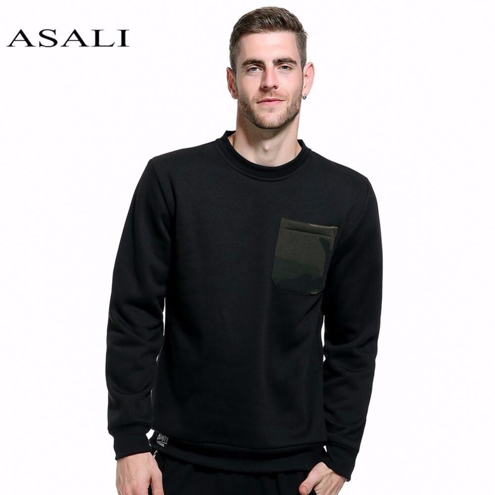 Camo Sweatshirt Hoodies Männer ASALI 2019 Neue Männliche Hip Hop - Herrenbekleidung - Foto 1