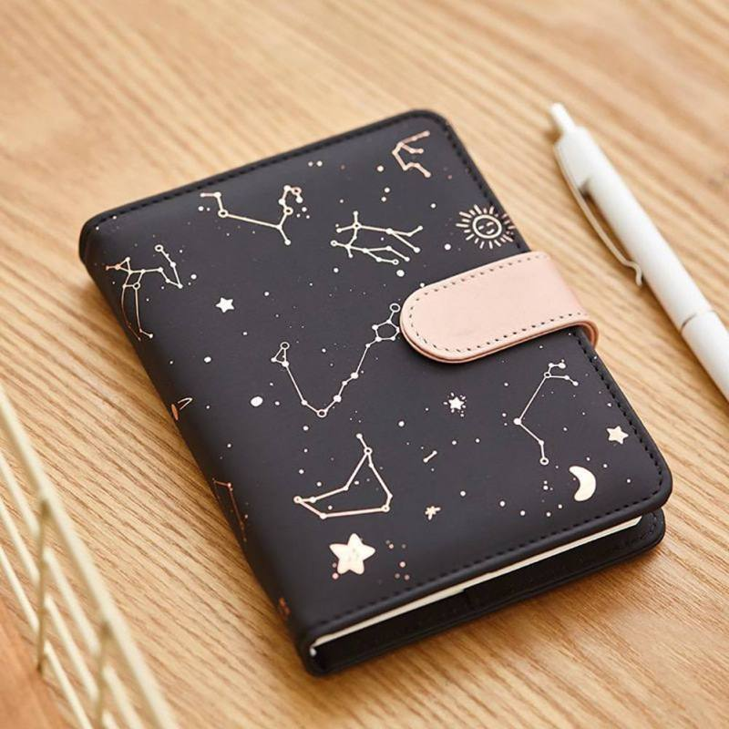 New Beauty Constellations Notebook PU Cover Schedule Book Diary Weekly Planner Notebook Kawaii Stationery School Office SuppliesNew Beauty Constellations Notebook PU Cover Schedule Book Diary Weekly Planner Notebook Kawaii Stationery School Office Supplies