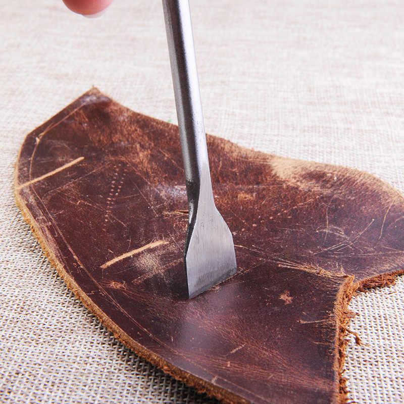 Outils d'artisanat du cuir 6, poinçons à fente poinçon droit, bricolage  outils de travail manuel du cuir   AliExpress