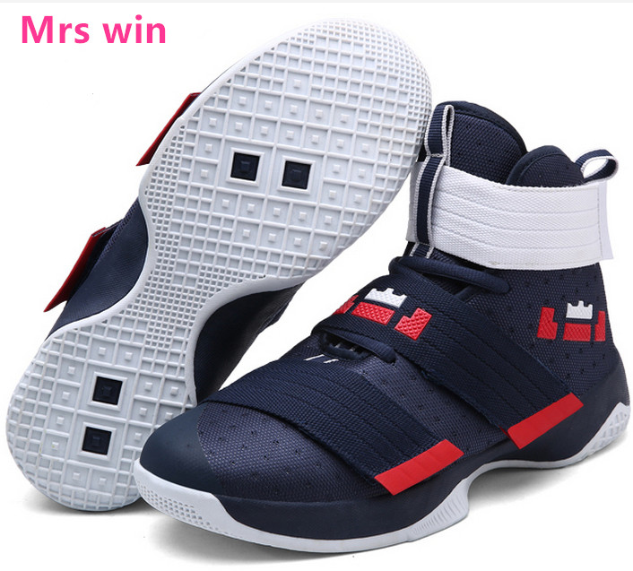 new product 9d6ef f0cde US $27.99 30% OFF|Männer und Frauen Basketball Schuh Lebron James Korb  Outdoor Sneaker Gerichte Sportschuhe Super Star Lebron Schwarz Zapatos ...