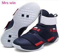 Men and Women Basketball Shoe Lebron James Basket Outdoor Sneaker Courts Sports Shoes Super Star Lebron Black Zapatos hombre