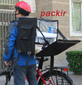 """PK-66Z: Thermo Bag, 12"""" Hot Pizza Thermal Delivery Bag, Hot/Cold Bag, Side Loading, 2-Way Zipper Closure, 16"""" L x 13"""" W x 18"""" H"""