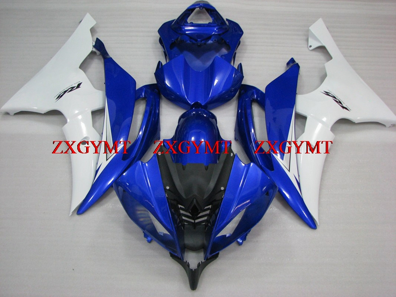 Fairing Kits for YZFR6 2008 - 2015 Bodywork for YAMAHA YZFR6 2015 Blue White Motorcycle Fairing YZF600 R6 2012Fairing Kits for YZFR6 2008 - 2015 Bodywork for YAMAHA YZFR6 2015 Blue White Motorcycle Fairing YZF600 R6 2012
