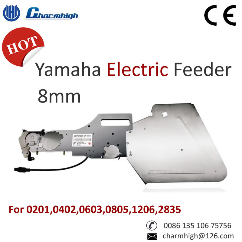Standard Yamaha Electric Feeder 8mm for 0201 0402 0603 0805 1206 2835 SMT Pick and Place