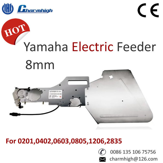 Standard Yamaha Electric Feeder (8mm) for 0201,0402,0603,0805,1206,2835...SMT Pick and Place Machine, SMT Parts Best Quality!