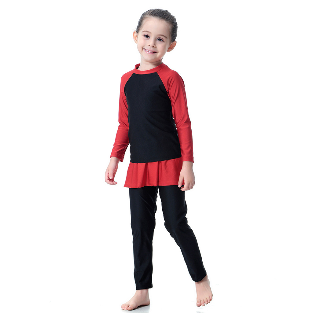 Swimwear Diving-Suit Long-Sleeve Kids Children Hot Full Snorkeling-Jly16 Wetsuit Surfing