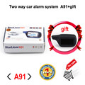 Factory sale Russian version Starlionr A91 Two way car alarm system with remote start 2-way auto alarm system Starlionr A91