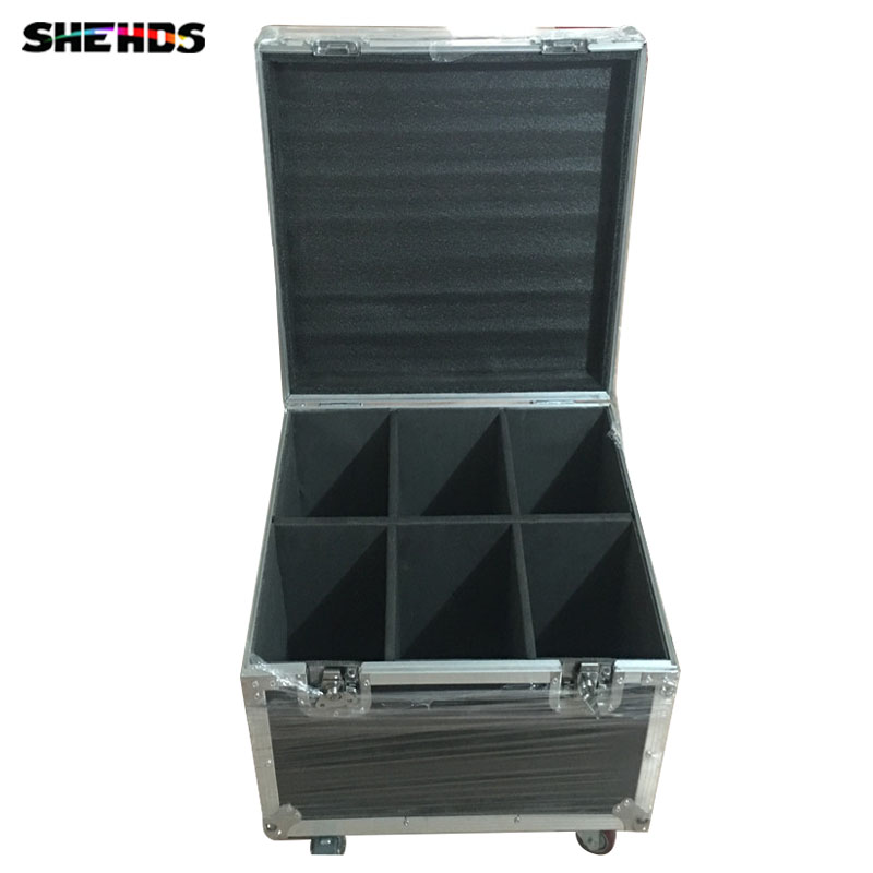 Flight Case with 6/8 pieces LED Wash 5x18W RGBWA+UV Moving Head Lighting for Disco KTV Party Fast Shipping,SHEHDS