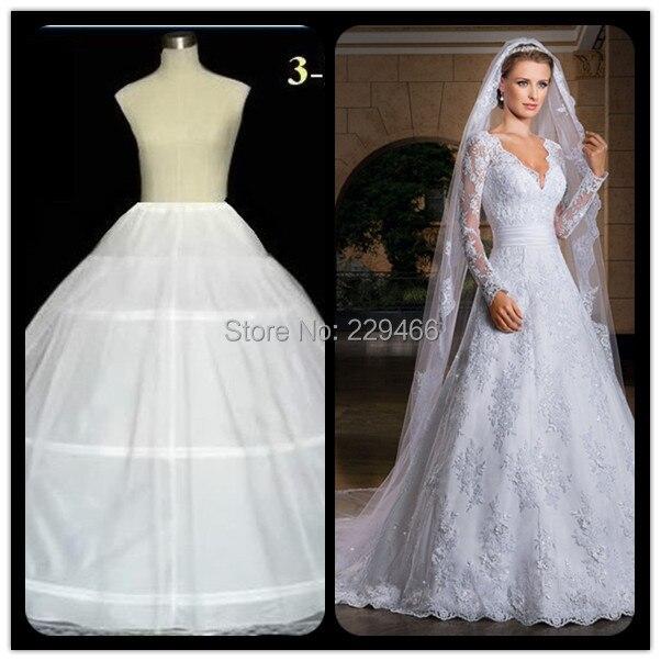 Popular Wedding Dress Petticoat Crinoline Underskirt-Buy Cheap ...