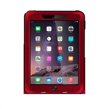 Case Original Love Mei Aluminum ShockprooF Cover Hard Waterproof Case For iPad air 2 Air2