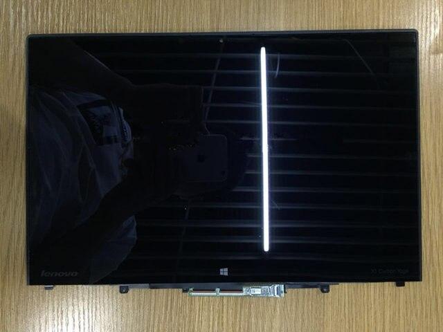 Высокое качество 14 Дюймов ноутбук ЖК Ассамблея для Lenovo Для X1 YOGA X1 Углерода ЖК-экран Digitizer