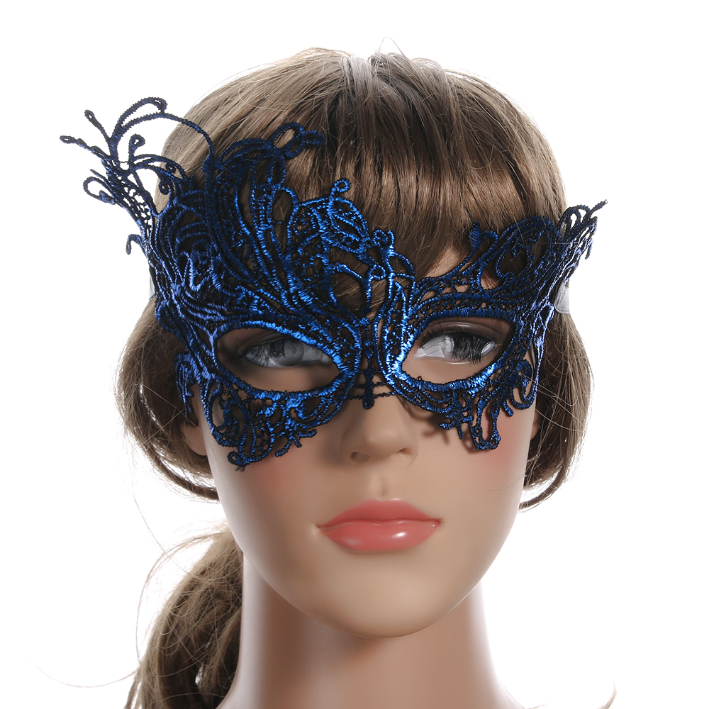 Mask Halloween Women Costume Dress Party-Decoration Masquerade Fancy Sexy Fashion Eye