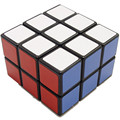 Lanlan 2X3X3 233 Branco Preto 3x3x2 Cubo Cubo Mágico Velocidade Torção Enigma Brinquedo Teaser de cérebro e Presente para seus Filhos
