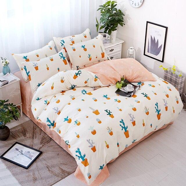 Aliexpress.com : Buy MYRU Cheap Bedding Sets Brief Cactus ...