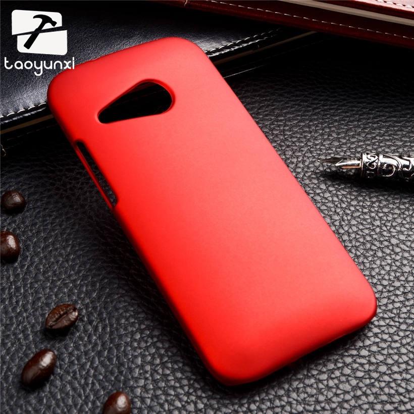 TAOYUNXI для htc One Mini 2 ультра тонкий матовый матовая задняя крышка Жесткий Пластик чехол для htc один 2 m8 мини-чехол для телефона XJQ