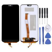100% חדש LCD עבור Huawei Honor 10 LCD מסך מגע Digitizer עצרת מסך פנל עבור Huawei honor 10 תצוגת להחליף