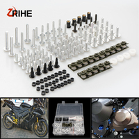 CNC Universal Motorcycle Accessories Fairing/windshield Bolts Screw set For Yamaha xmax 300 XMAX300 V MAX 1200 /VMAX 1200 YZF R3