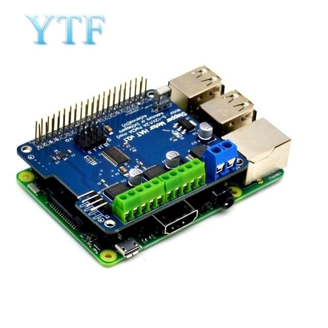 NEW! Stepper Motor B + Robot Expansion Board Servo HAT for Raspberry Pi 3 PI 2  Mini Kit
