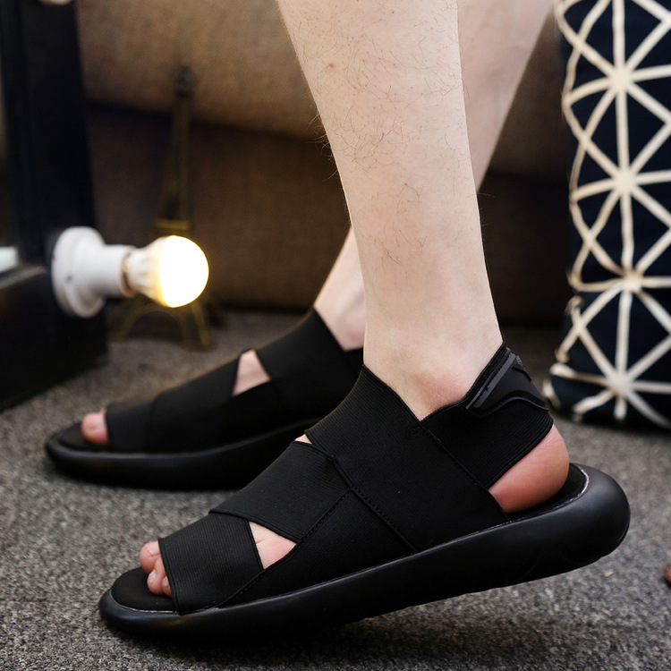 bd8f8021f Men Alippers Open toed Leather Sandals Men Sandals Top Quality Mans  Footwear 2017 New Fashion Y3 Sandals KAOHE SANDALS Indoor -in Men s Sandals  from Shoes ...