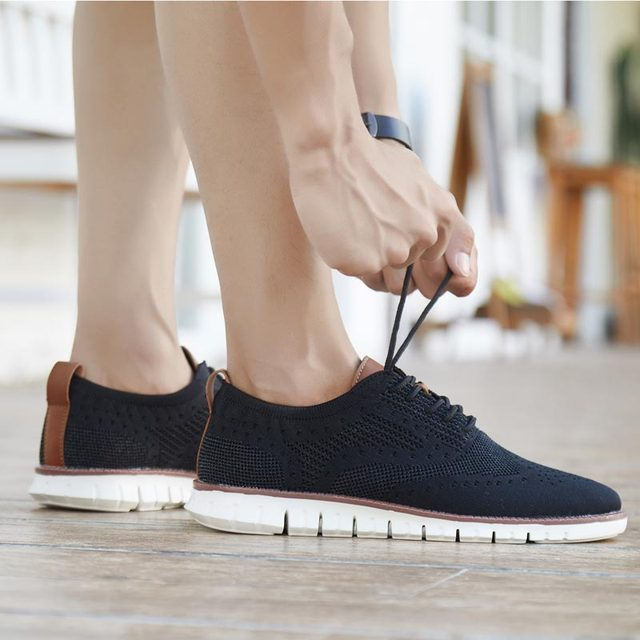 MWY British Style Mens Shoes Casual Breathable Hard Wearing Sneakers Men Zapatillas De Hombre Men Shoes Light Walking Men Flat