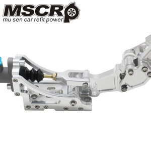 Image 5 - Universal Adjustable Aluminum Vertical Hydraulic Drifting Hand Brake With Special Master Cylinder S14 S13 silver