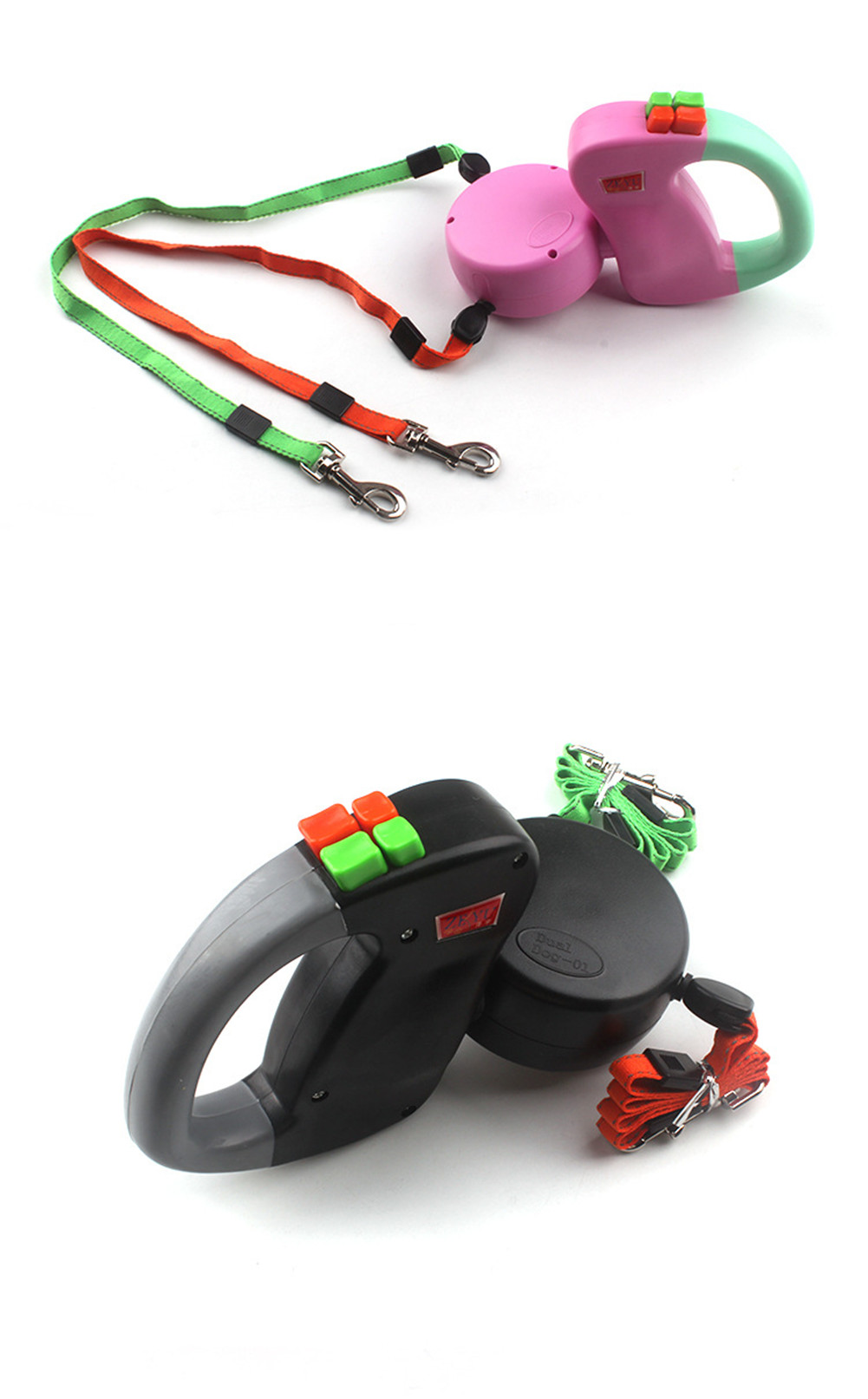 Automatic Double Head Retractable Traction Rope